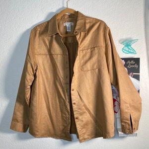 Cherokee feel of suede can use as jacket or shirt